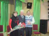 И.М.Карасюк со студентами - Татьяной Мазуркевич и Виталием Кравченко