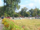 Виден новый вход в парк