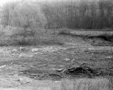 Это начало пути селевого потока: ничего не осталось...