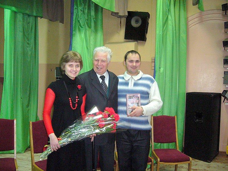 І.М.Карасюк  із студентами